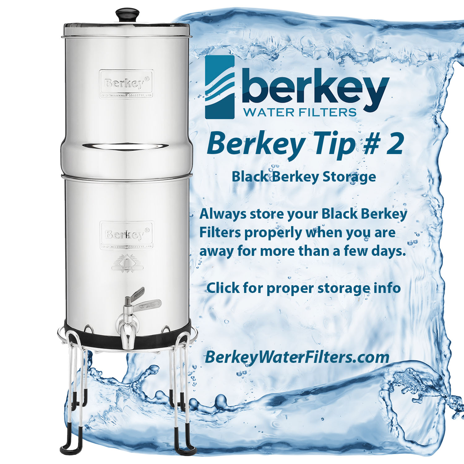 Black Berkey Storage