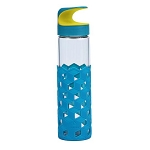 Wai Hook Cube Grip glass water bottle